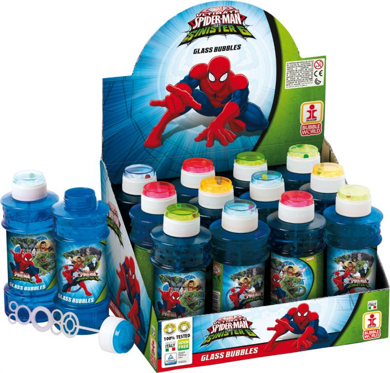 HeliumKing Bublifuk Spiderman 60ml
