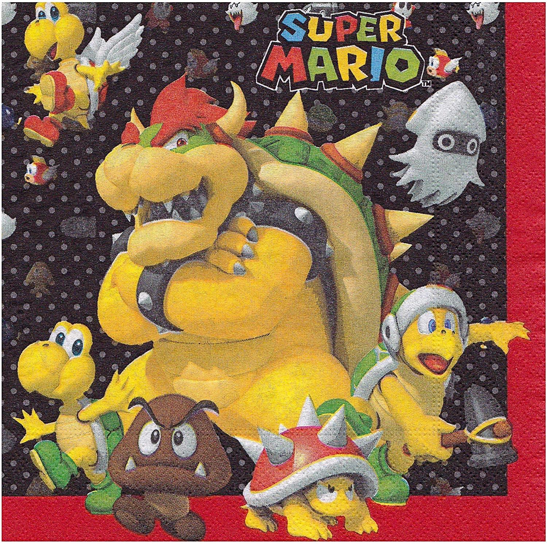 Amscan Ubrousky - Super Mario 20 ks