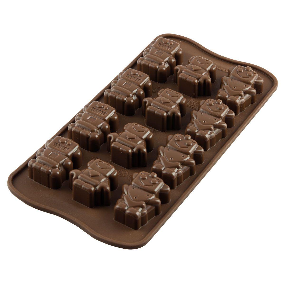 CakeSupplies Forma na čokoládu - Robochoc (roboty)
