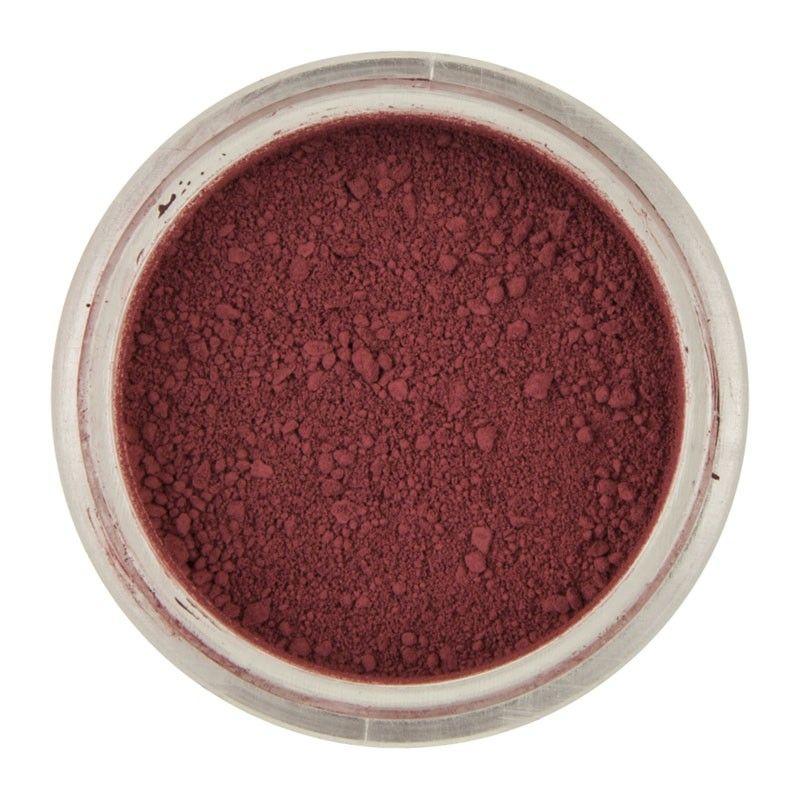 Levně CakeSupplies Jídla prachová barva Red Claret - Bordová 3 g