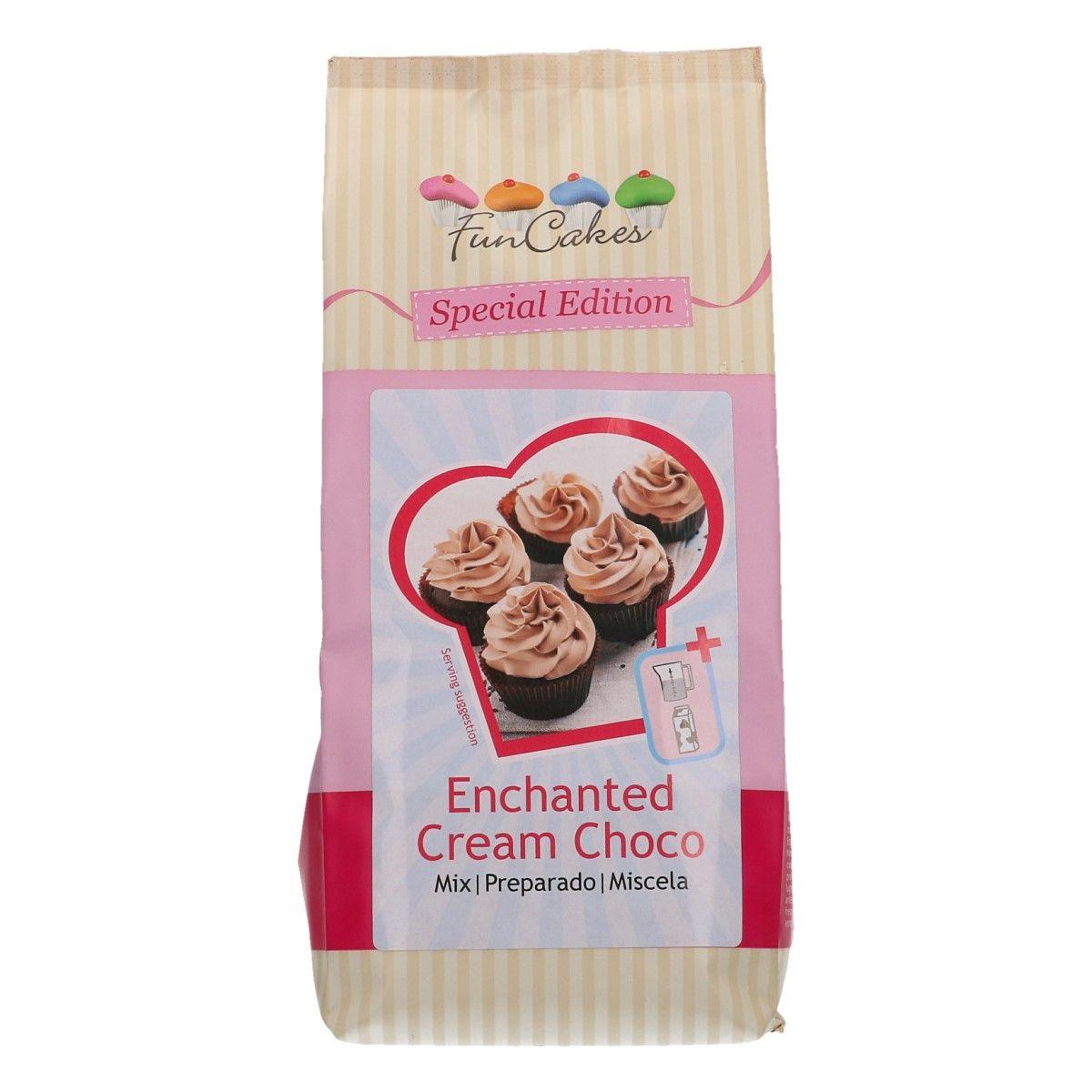 Levně CakeSupplies Kouzelný krém čokoládový Enchanted Cream Choco 450 g