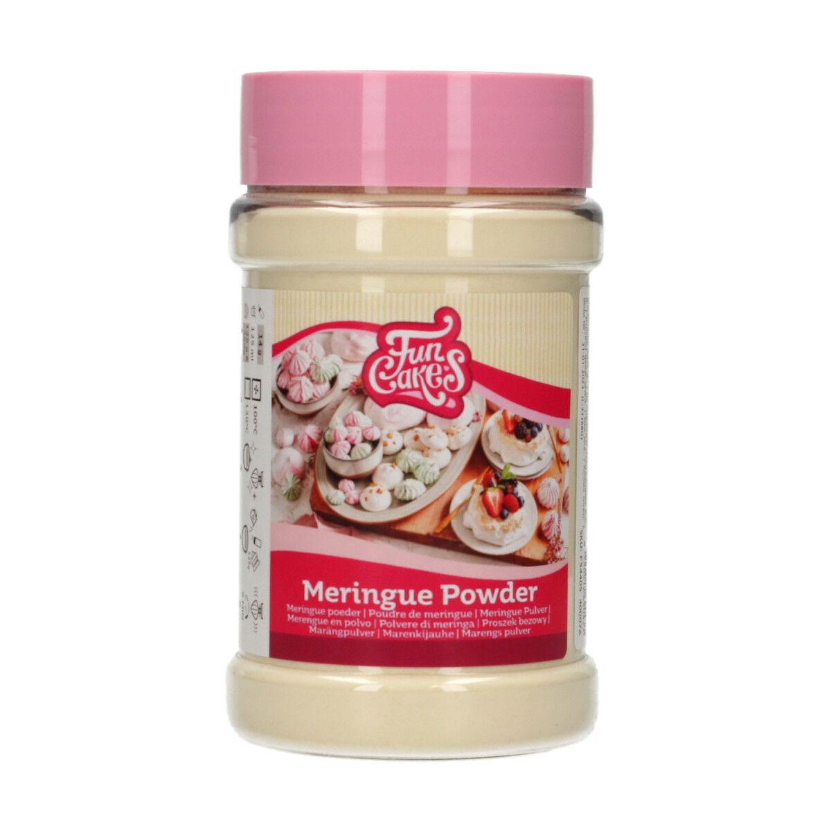 CakeSupplies Prášok na výrobu snehových pusiniek Meringue Powder 150 g