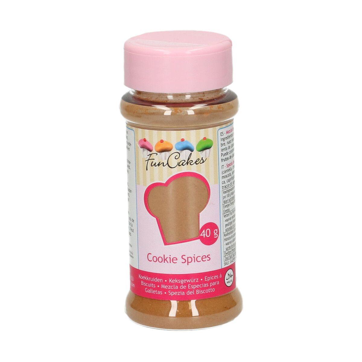 Funcakes Koření Cookie Spice 40 g