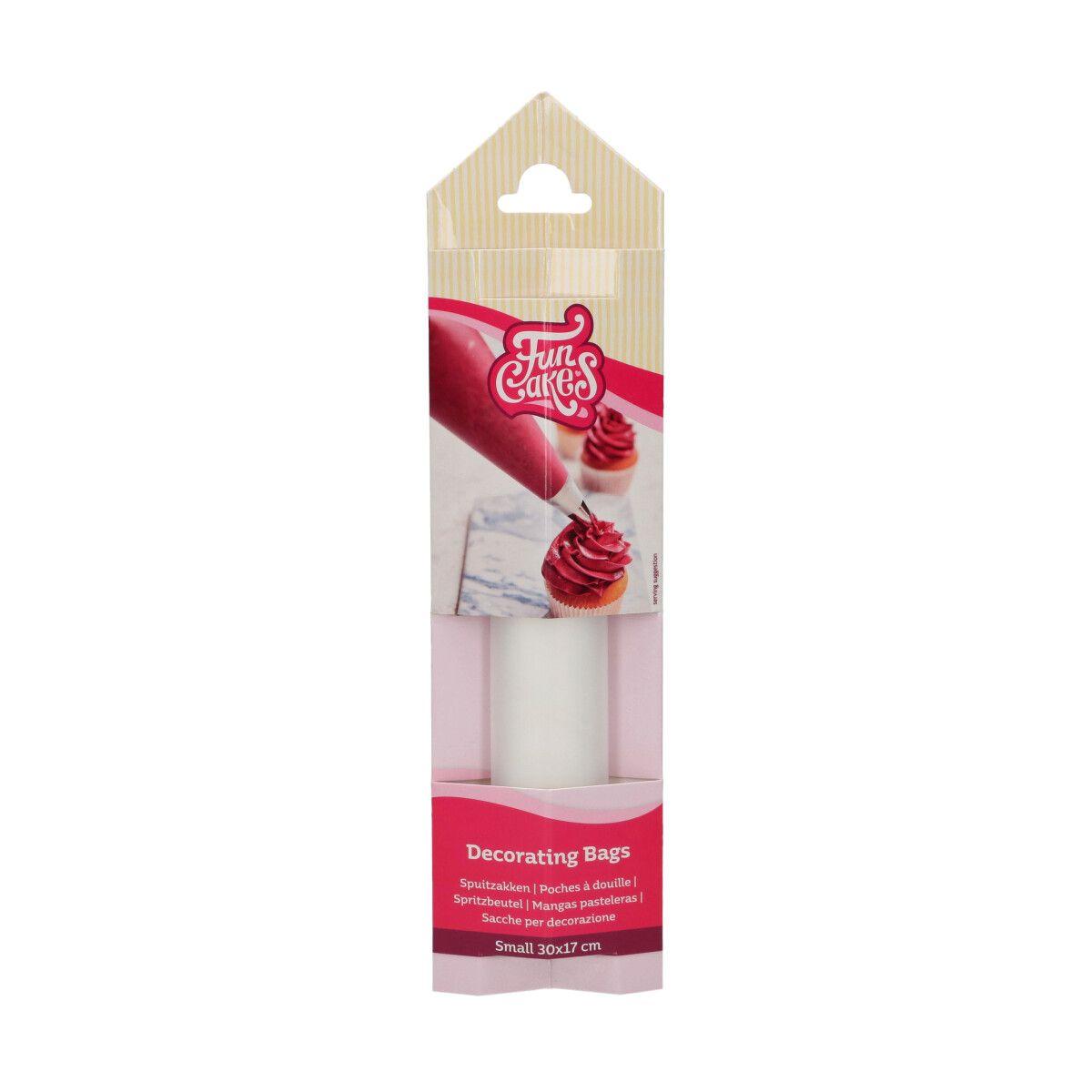 Funcakes Jednorázové cukrářské zdobící sáčky protiskluzové 30 cm - 10ks