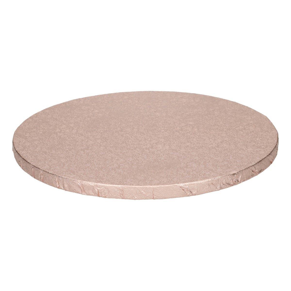 Funcakes Dortová podložka Rose Gold 25 cm, 12 mm