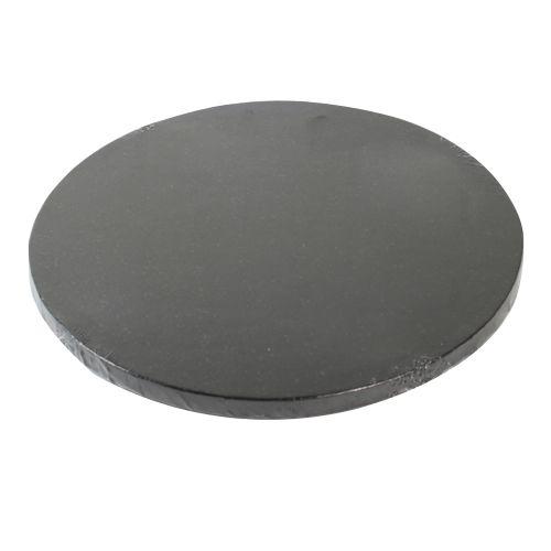 Funcakes Dortová podložka černá O 25cm, tloušťka 12 mm