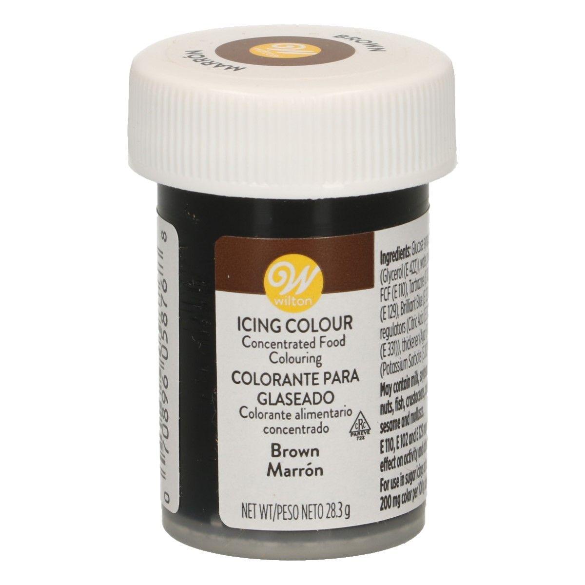 Wilton Gelová barva Brown - Hnědá 28 g