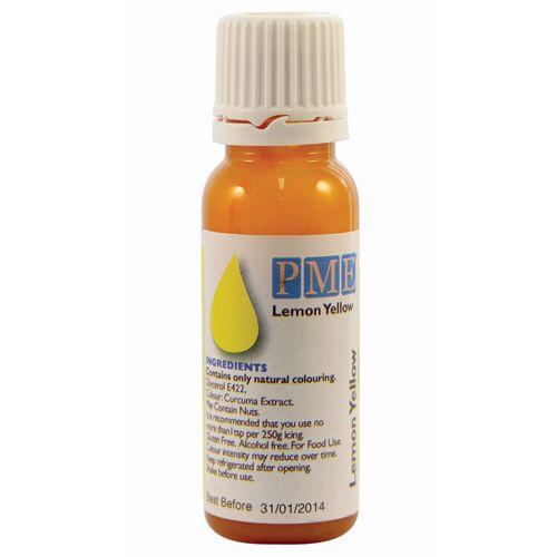 PME Tekutá přírodní barva - Žltá 25 g