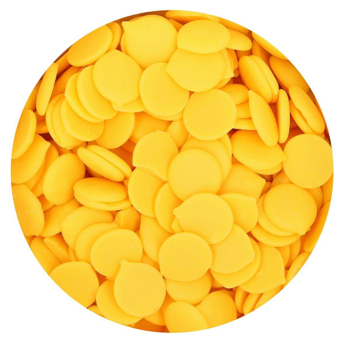 Funcakes Deco Melts Yellow - Žlutá 250 g