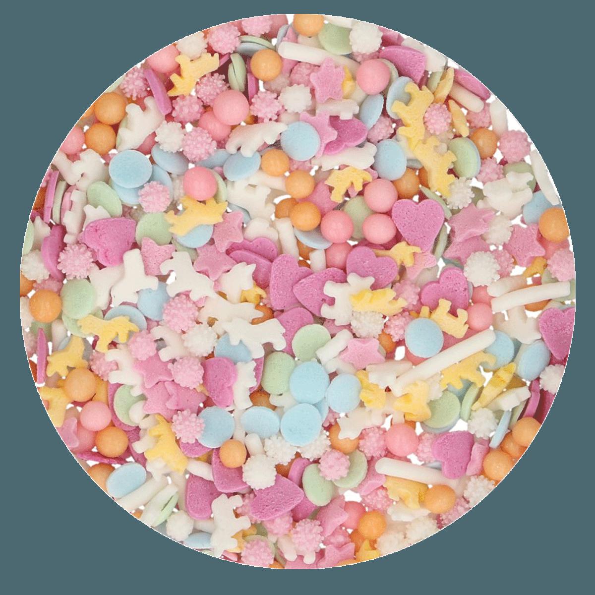 Funcakes Cukrářské zdobení Medley Unicorn - Jednorožec 50 g