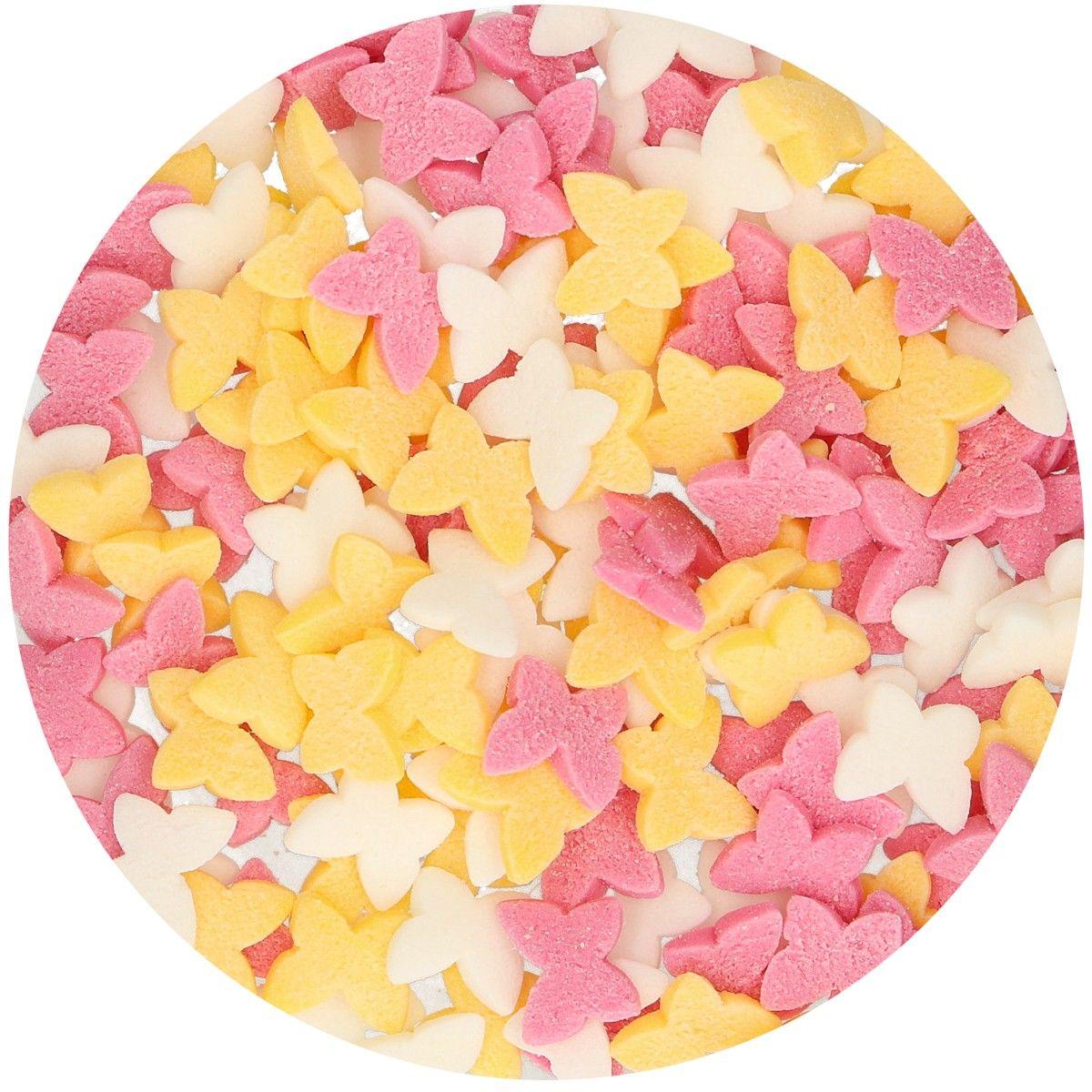 Funcakes Cukrářské zdobení Motýli 50 g