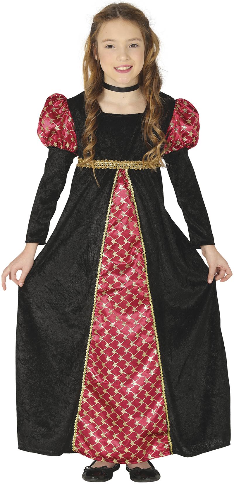 Guirca Kostým Princezny Velikost: 7 - 9 let ( výška 127 - 132 cm )