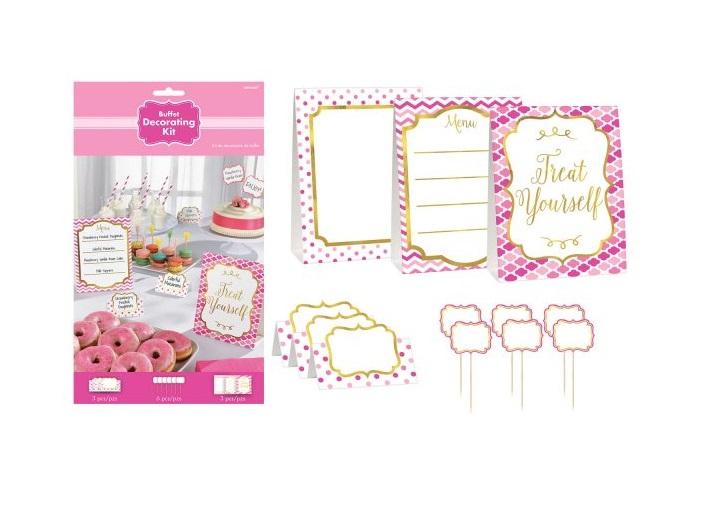 Rózsaszín stílusú candy bar