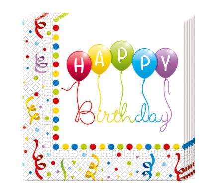 Vidám születésnap ünnepség