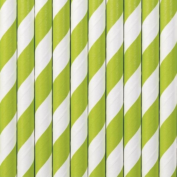 Zöld csíkos