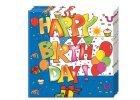 Happy Birthday szülinapi ünnepség - party díszítés