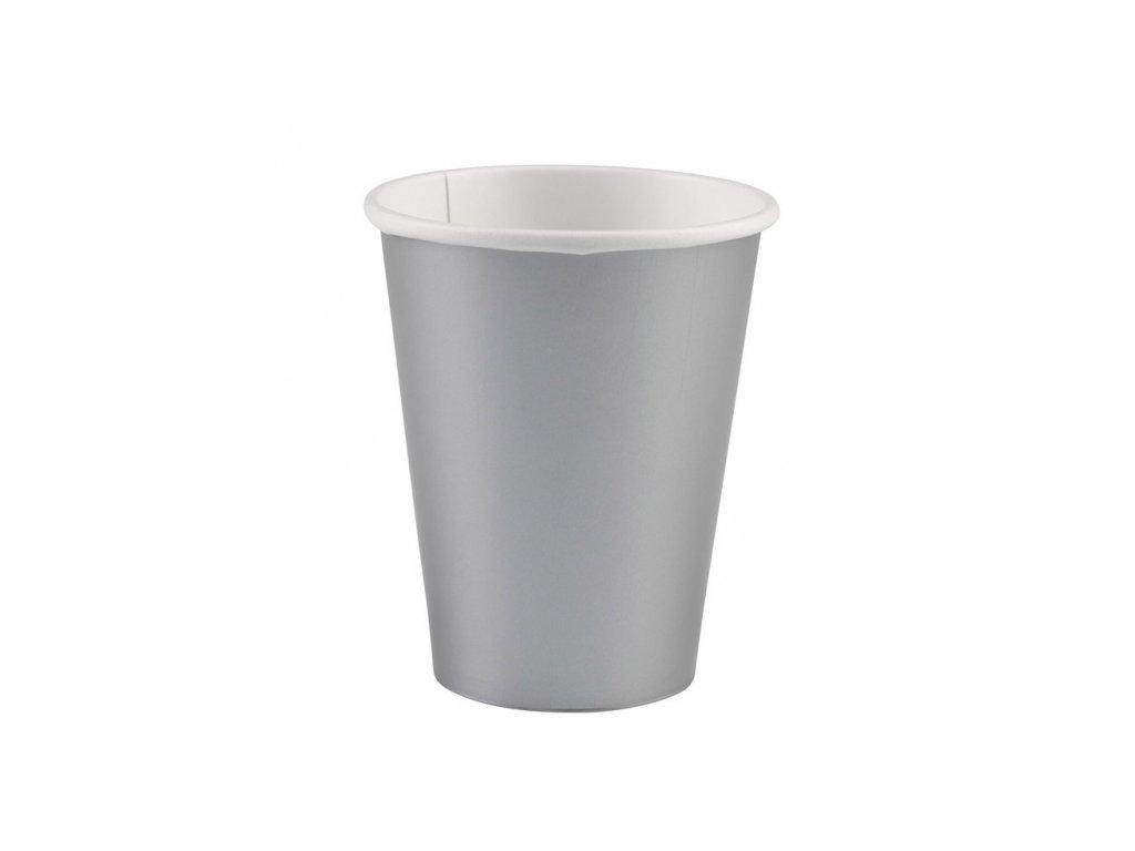 Poharak - ezüst 8 db