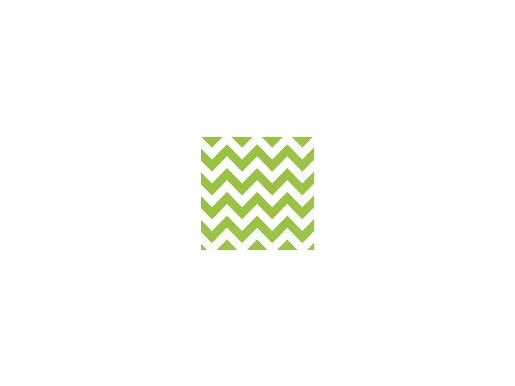 Szalvéták - zöld 20 db