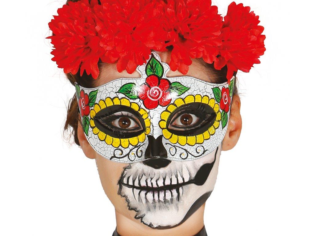 Női maszk - Halál