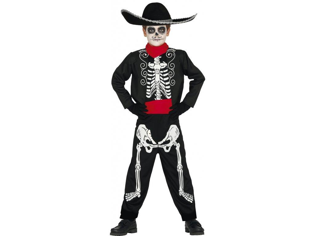 Gyermek jelmez - Mexikói csontváz