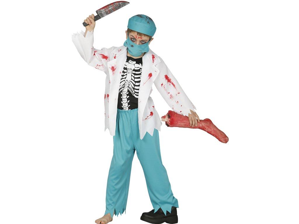 Detsky kostym zombie doktor