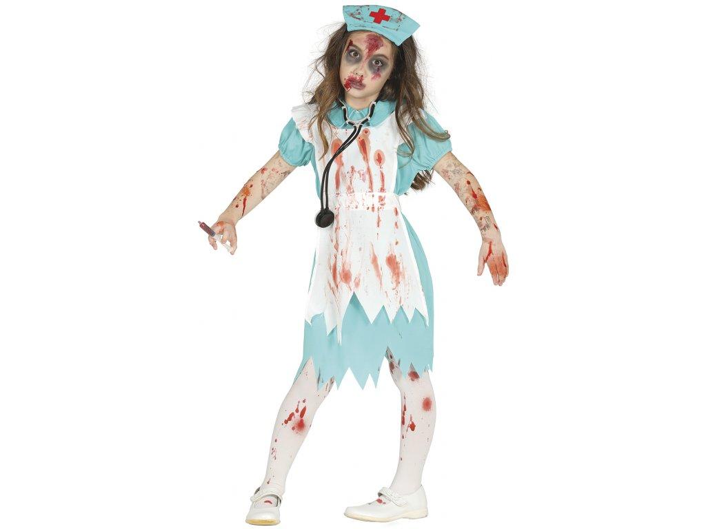 Gyermek jelmez - Zombi egészségügyi nővér