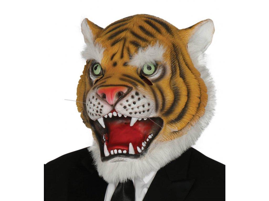 Tigris farsangi maszk