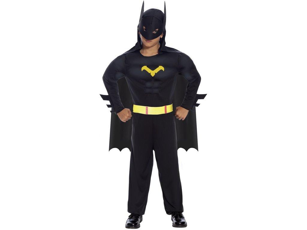 Kostým Batman - detský (Méret - gyermek M)