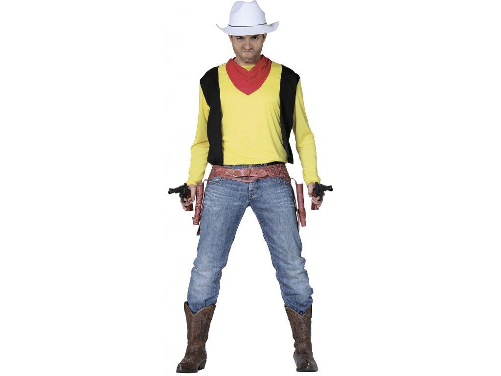 Kostým kovboja Laky Luke (Méret - felnőtt L)