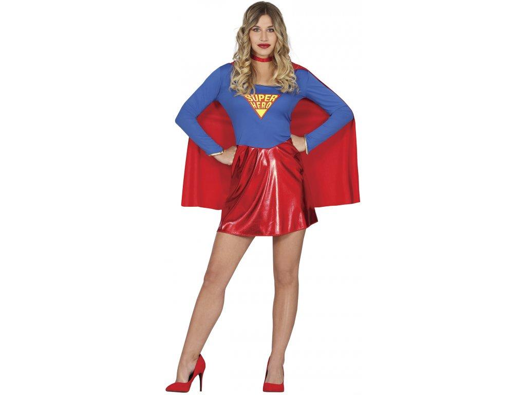 Kostým Superhrdinky (Veľkosti L)