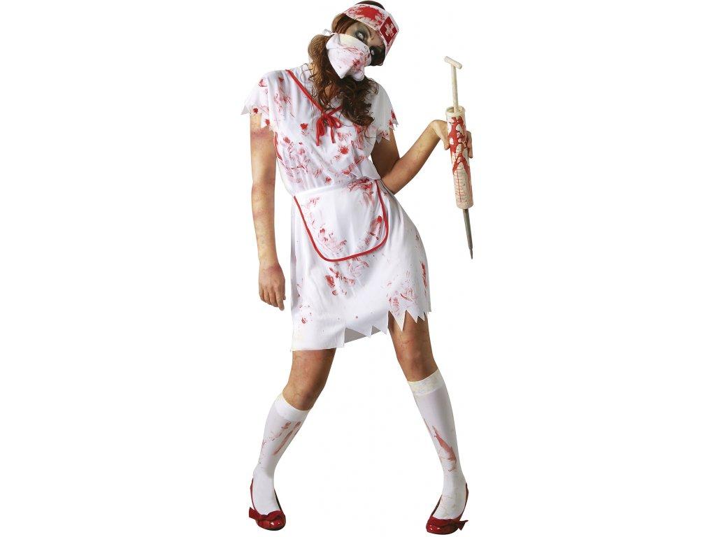 Jelmez - zombi egészségügyi nővér