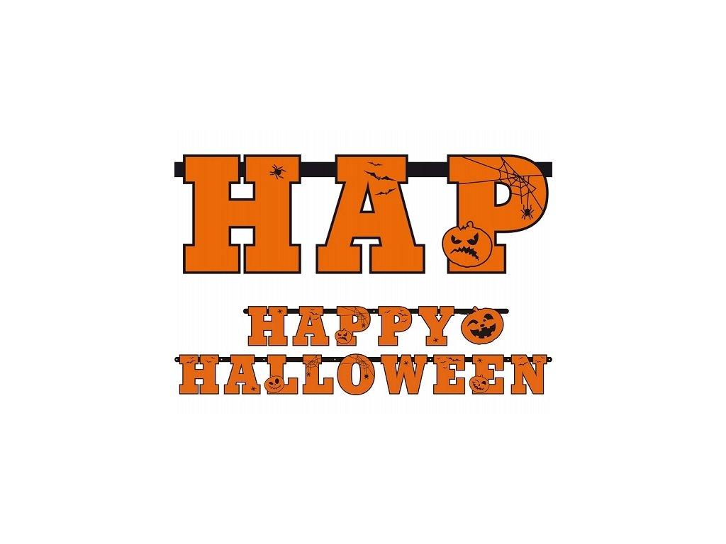 Happy Halloween banner 210 cm
