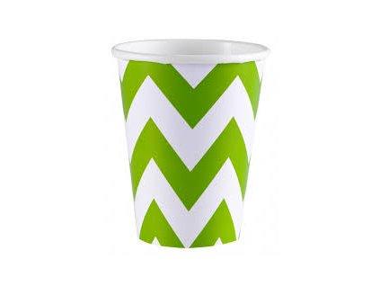 Poharak - zöld 8 db