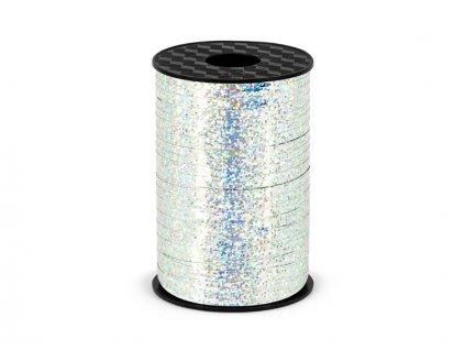 Szalag lufikra - ezüst - hologramos 225 m