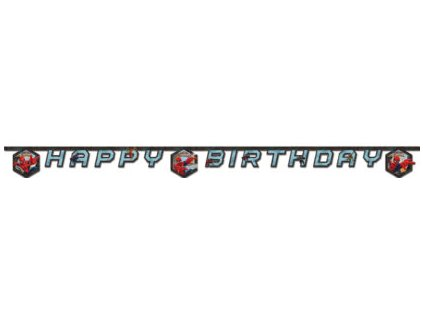 Banner - Happy Birthday - Pókember