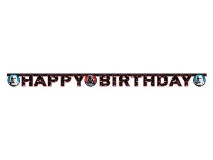 Banner - Happy Birthday - Star wars