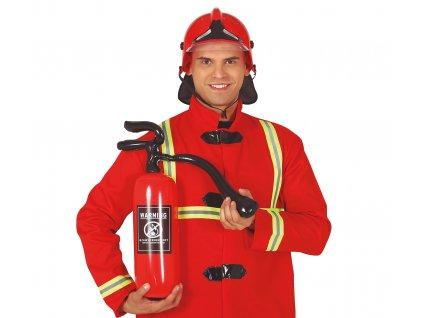Nafukovaci hasiaci pristroj
