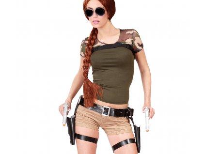 Fegyver öv pisztolyokkal - Lara Croft