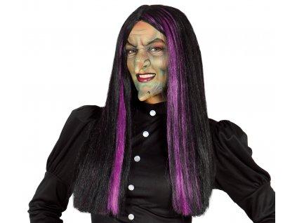 Boszorkány paróka lila melírrel