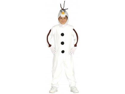 Detský kostým snehuliak Olaf - chlapčenský (Méret - gyermek S)