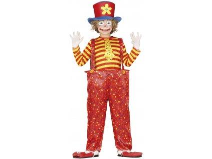 Detský kostým - Zábavný klaun (Méret - gyermek M)