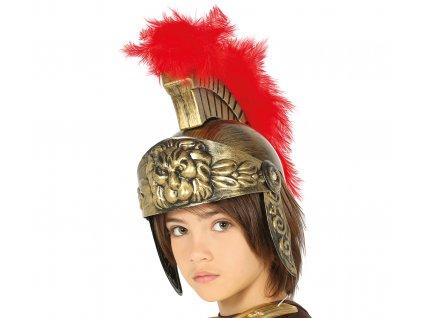 Gyerek római sisak