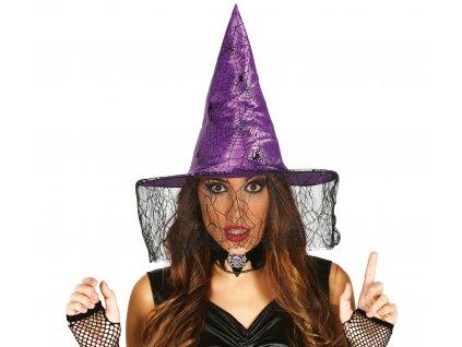 Lila boszorkány kalap