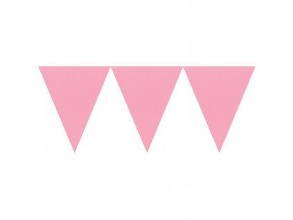 Világos rózsaszín banner 450 cm