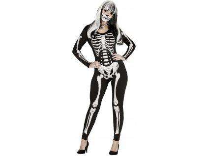 Női jelmez - csontváz