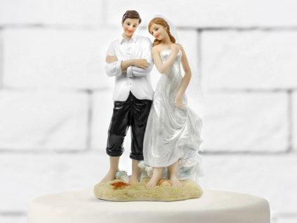 Tortadísz - Strand esküvő
