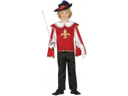 Detský kostým Mušketiera (Méret - gyermek S)