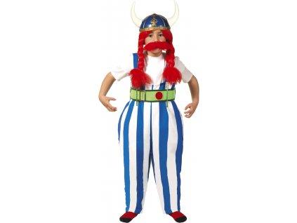 Detský kostým Obelix (Veľkosti 10-12 rokov (výška 142-148cm))