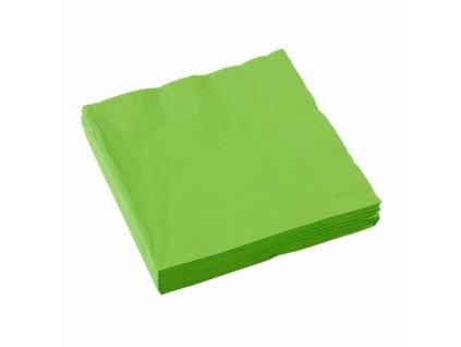 Zöld szalvéták 25x25 cm
