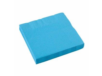 Kék szalvéták  25x25 cm
